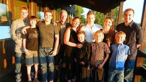 The McDonald's Family; source: ABC News.