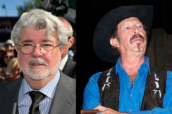 George Lucas and Kinky Friedman